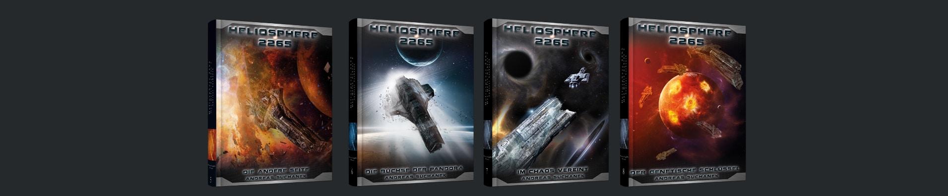 Heliosphere 2265 - Der Helix-Zyklus als Hardcover von Andreas Suchanek