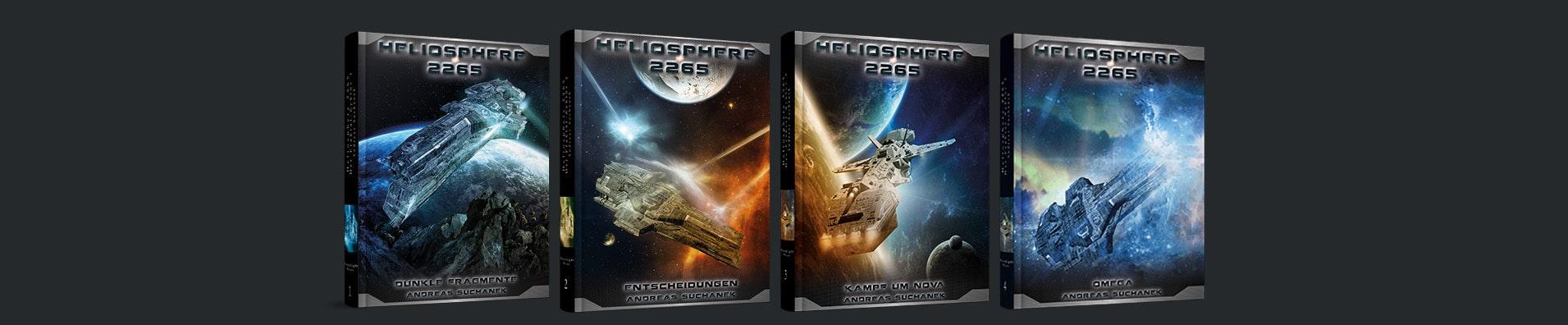Heliosphere 2265 - Der Fraktal-Zyklus als Hardcover von Andreas Suchanek