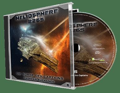 Heliosphere 2265 - Band 6: Die Bürde des Captains von Andreas Suchanek