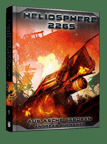 Heliosphere 2265 - Der Ash'Gul'Kon-Zyklus 1 - Aus Asche geboren von Andreas Suchanek